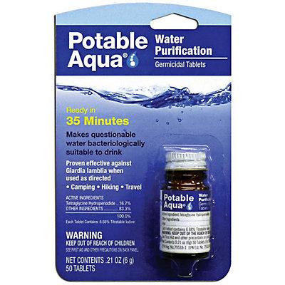 Portable Aqua Emergency Water Tablets, , viewer