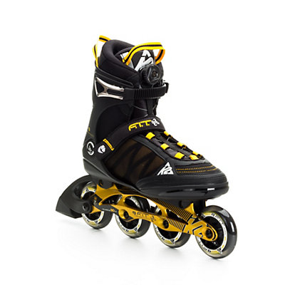 K2 F.I.T. 84 Boa Inline Skates, Black-Gold, viewer