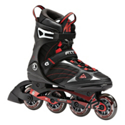 K2 F.I.T. 80 Inline Skates, Black-Red, medium