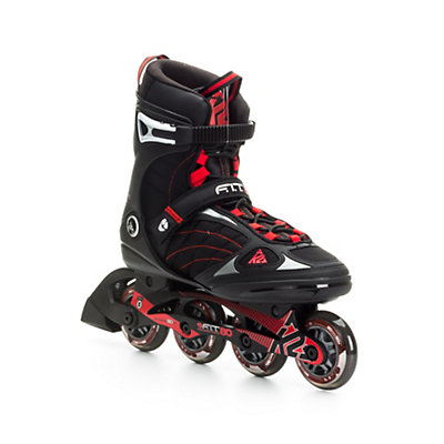 K2 F.I.T. 80 Inline Skates, Black-Red, viewer