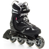 K2 Athena Womens Inline Skates, Black-Silver, medium