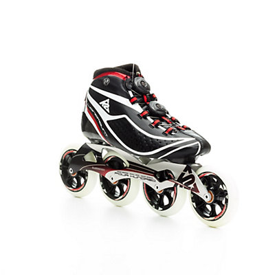 K2 Pro Longmount Race Inline Skates, Black-Red-White, viewer