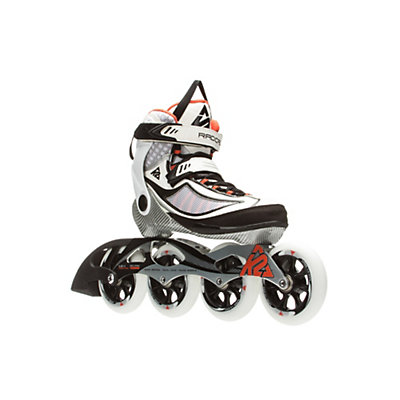 K2 Radical 100 Womens Inline Skates 2016, White-Silver-Orange, viewer