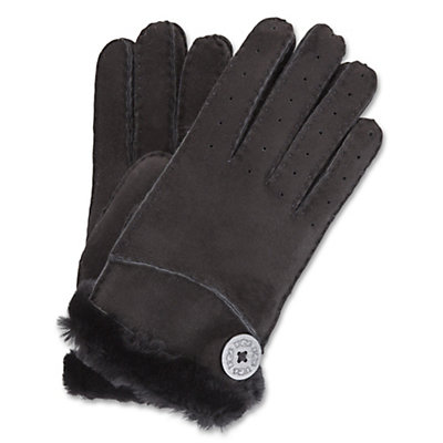 UGG Bailey Womens Gloves, Black, viewer