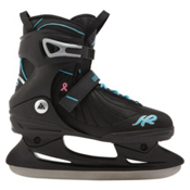 K2 Andra Womens Ice Skates, Black-Blue, medium