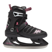 K2 Alexis Womens Ice Skates, Black-Pink, medium