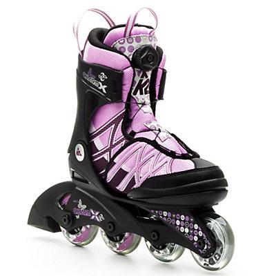 K2 Charm X Boa Adjustable Girls Inline Skates, , large