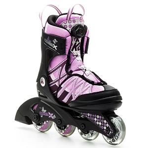 K2 Charm X Boa Adjustable Girls Inline Skates 2014