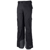 Columbia Ridge Run II Big Mens Ski Pants, Black, medium