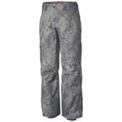 Columbia Ridge Run II Big Mens Ski Pants, Graphite Digi Print, medium