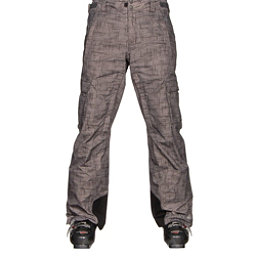 Columbia Ridge Run II Big Mens Ski Pants, Grill Tweed Print, 256