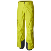 Columbia Ridge Run II Big Mens Ski Pants, Acid Yellow, medium