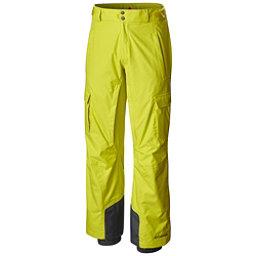 Columbia Ridge Run II Big Mens Ski Pants, Acid Yellow, 256