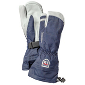 Hestra Heli 3 Finger Gloves, Navy, medium