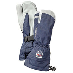 Hestra Heli 3 Finger Gloves, Navy, 256
