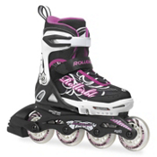Rollerblade Spitfire XT Adjustable Girls Inline Skates 2015, 5-8, medium