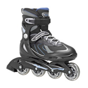 Bladerunner Pro 80 Inline Skates, Black-Blue, medium