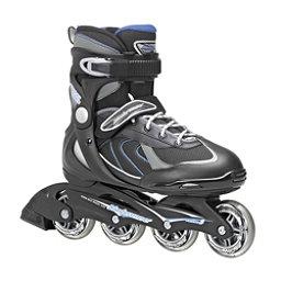 Bladerunner Pro 80 Inline Skates, Black-Blue, 256