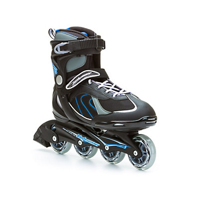 Bladerunner Pro 80 Inline Skates, Black-Blue, viewer