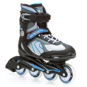 Bladerunner Pro 80 Womens Inline Skates, Silver-Blue, medium