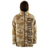 ThirtyTwo Shiloh 2 Mens Shell Snowboard Jacket, Safari, medium