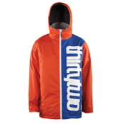 ThirtyTwo Shiloh 2 Mens Shell Snowboard Jacket, Royal, medium