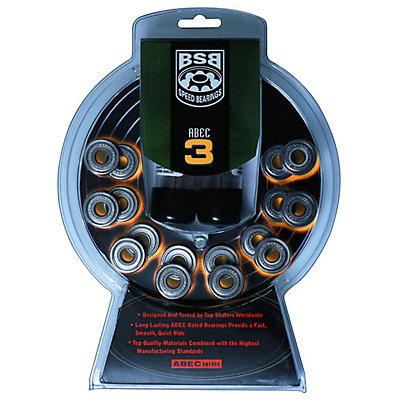 Boss ABEC 3 Skate Bearings, , large