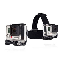 GoPro Head Strap Mount and Quick Clip, , 256