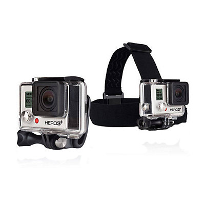 GoPro Head Strap Mount and Quick Clip, , viewer