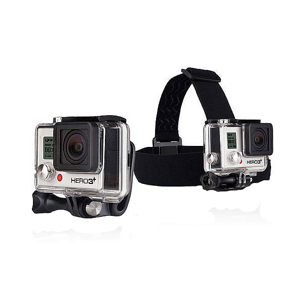 GoPro Head Strap Mount and Quick Clip, , 600