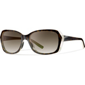 Smith Facet Polarized Womens Sunglasses, Apple Tortoise, medium