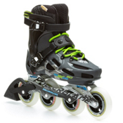 Rollerblade Maxxum 90 Urban Inline Skates, Black-Anthricite, medium