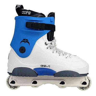Razors Genesys 9.1 Blue Aggressive Skates, , large