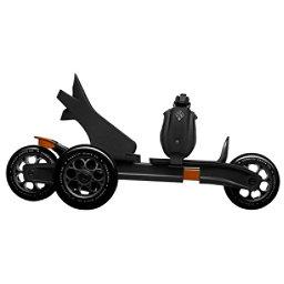 Cardiff S1 Skates, Black-Orange, 256