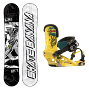 Lib Tech Skate Banana Snowboard and Binding Package, 159cm, medium