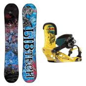 Lib Tech T.Rice Pro C2BTX Snowboard and Binding Package, , medium