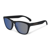 Oakley Frogskins Polarized Sunglasses, Ice Iridium Polarized, medium