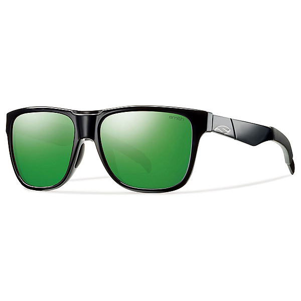 Smith Lowdown Sunglasses, Black-Green Sol X, 600