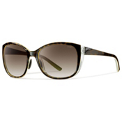 Smith Lookout Polarized Womens Sunglasses, Apple Tortoise-Polarized Brown, medium