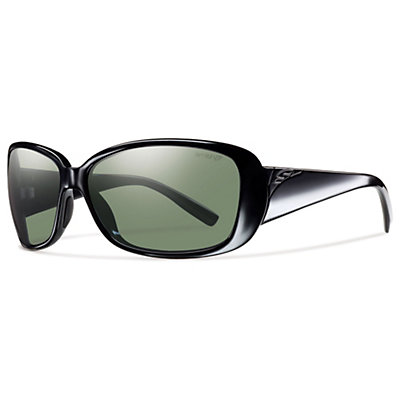 Smith Shorewood ChromaPop Womens Sunglasses, Black-Polar Gray Green, viewer