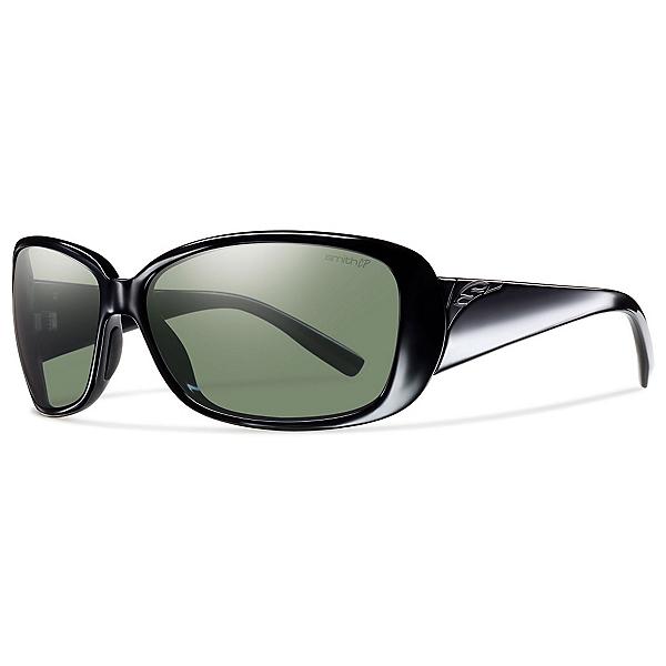 Smith Shorewood ChromaPop Womens Sunglasses, Black-Polar Gray Green, 600