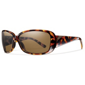 Smith Shorewood ChromaPop Womens Sunglasses, Vintage Tortoise-Polar Brown, medium