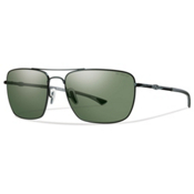 Smith Nomad ChromaPop Sunglasses, Matte Black-Polarized Gray Green, medium