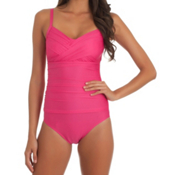 Athena Heavenly One Piece Swimsuit, Pink, medium