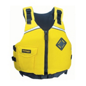 Stohlquist Escape Adult Kayak Life Jacket 2014, Yellow, medium