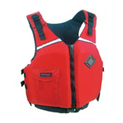 Stohlquist Escape Adult Kayak Life Jacket 2014, Red, medium