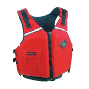 Stohlquist Escape Womens Kayak Life Jacket 2014, Red, medium