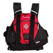 Stohlquist Edge Adult Kayak Life Jacket 2015, Red, medium