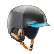 Bern Baker EPS Helmet 2014, Grey-Blue Hatstyle, medium