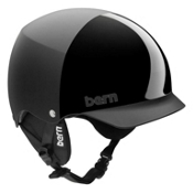 Bern Baker EPS Helmet, All Black Everything-Cordova, medium